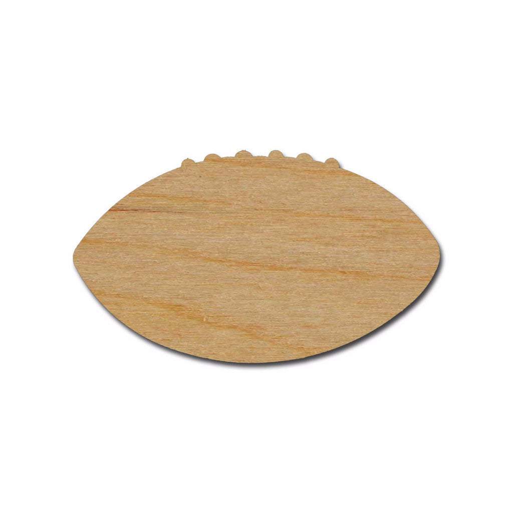 Football Shape Wood Cutout