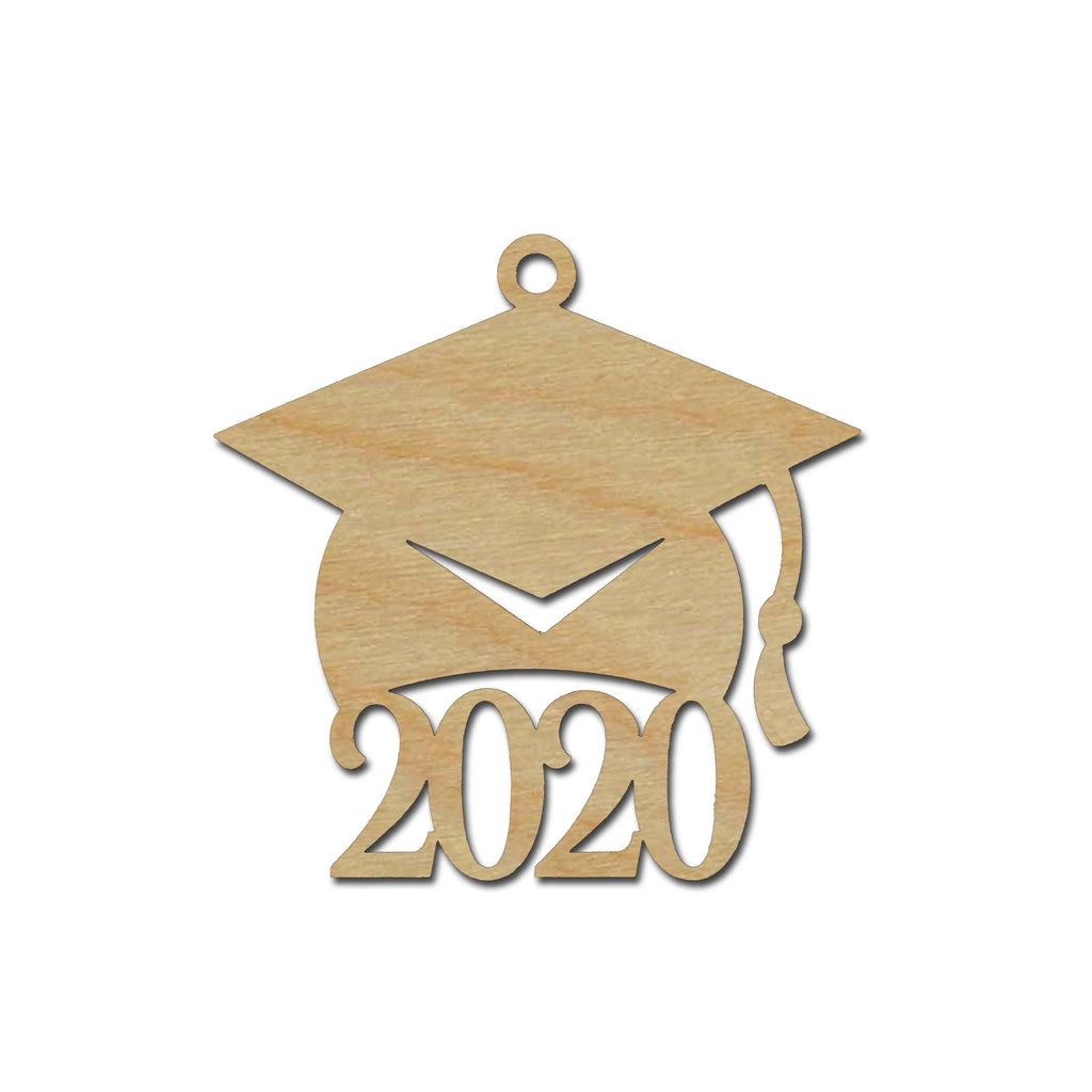 Graduation Cap 2020 Wooden Grad Hat Tags Variety Of Sizes