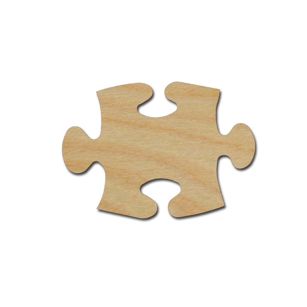 Puzzle Piece Wood Cutout