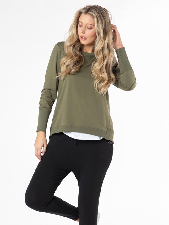Dolly Sweat Khaki