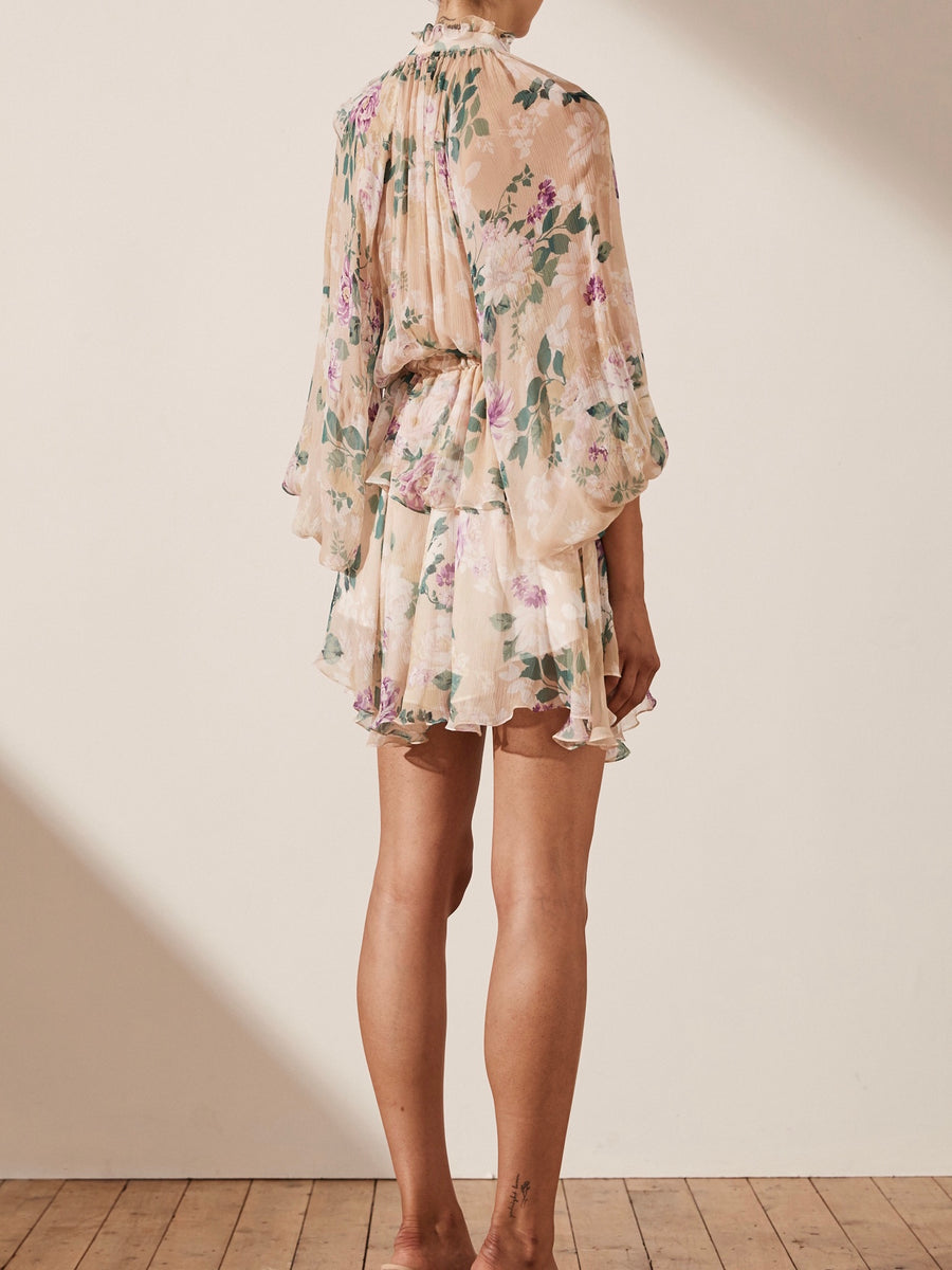 Donatella Drawstring Mini Dress