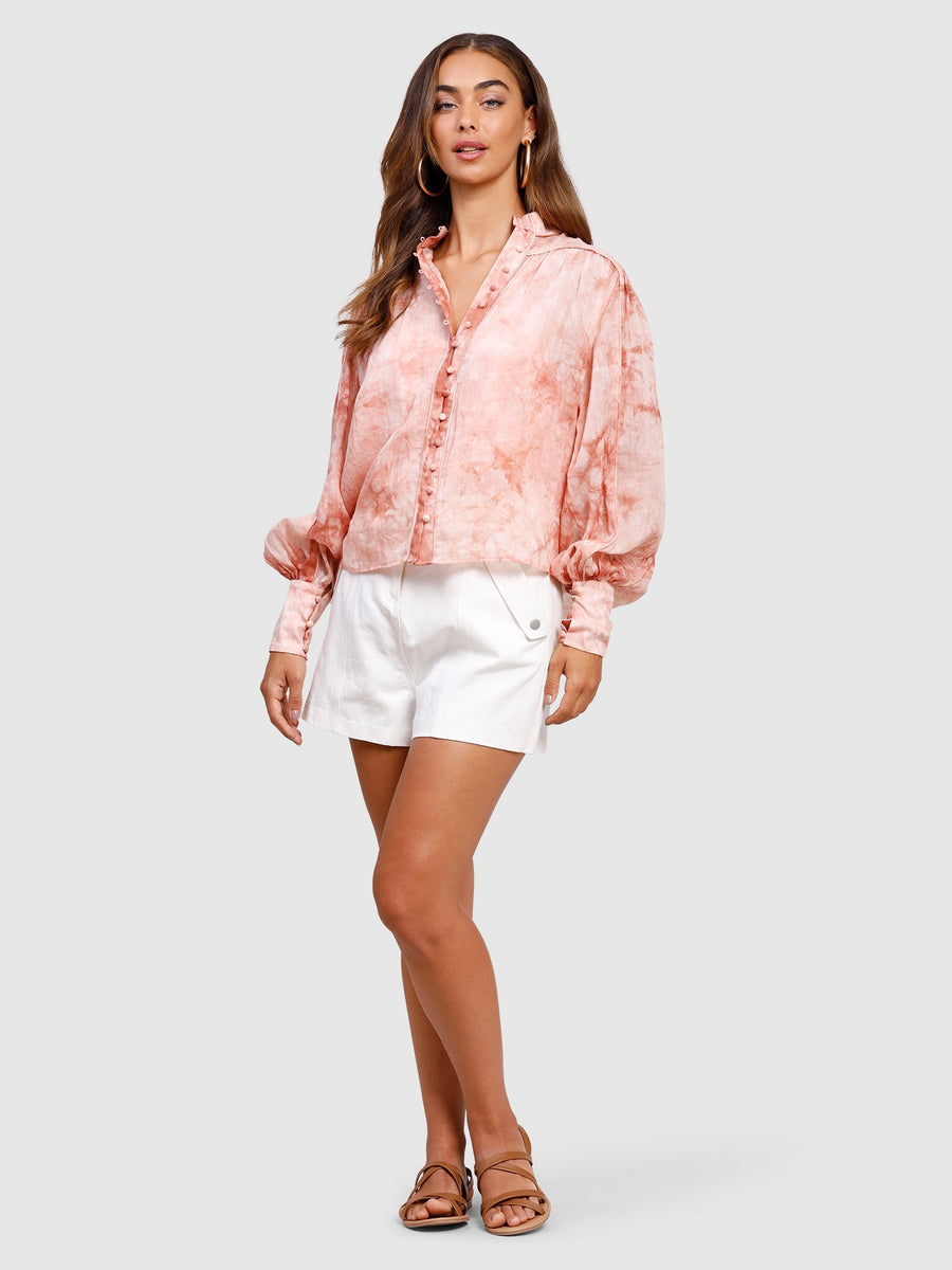 High Tide Blouse Rose