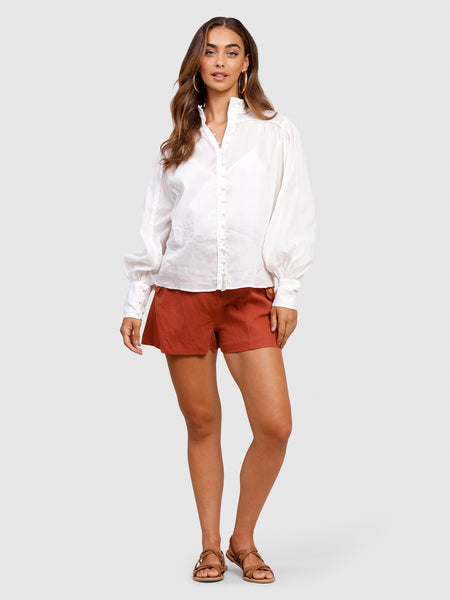 Belle of Bloom Shirt White