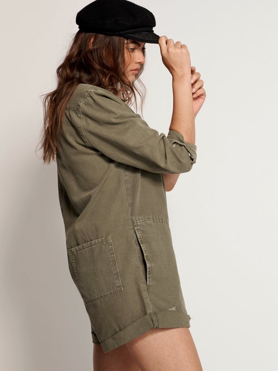 Khaki French Prophecy Jumpsuit
