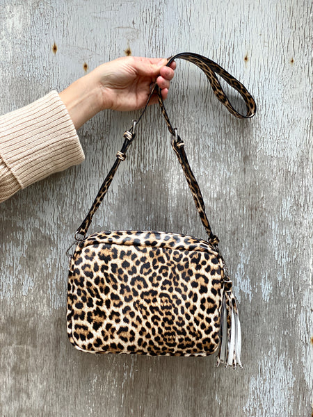 Denby Camera Bag Leopard