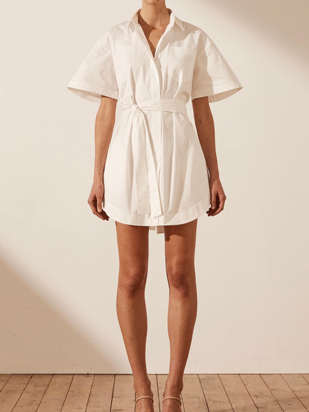 Amaia Shirt Dress with Tie
