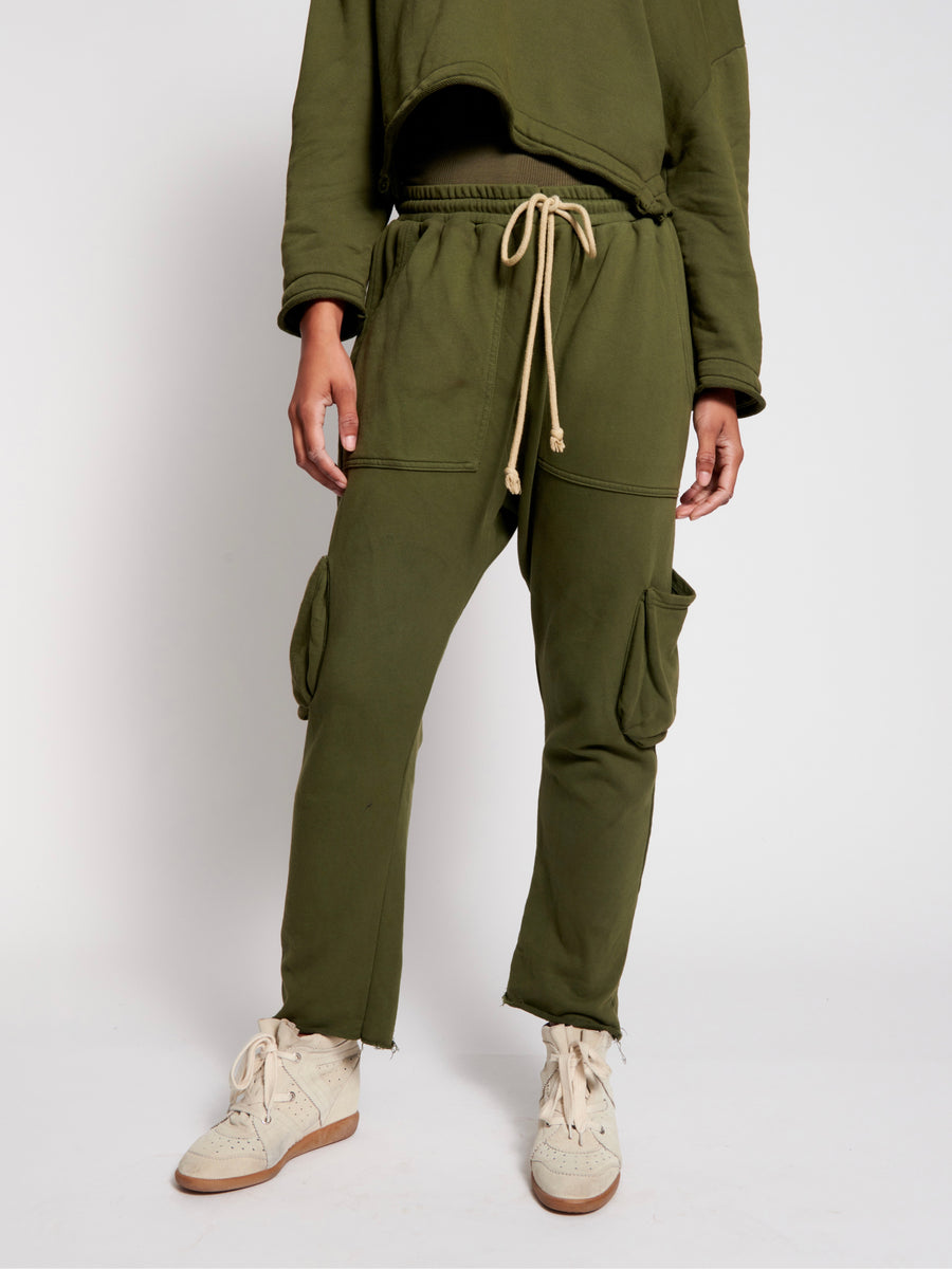 Goldie Army Sweat Pants