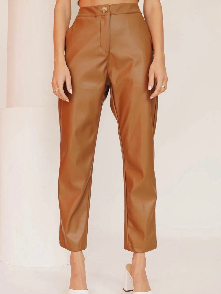 The Stand Down Pant Tan