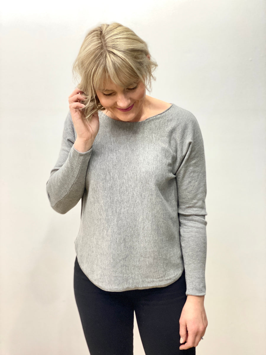 Elissa Knit Grey