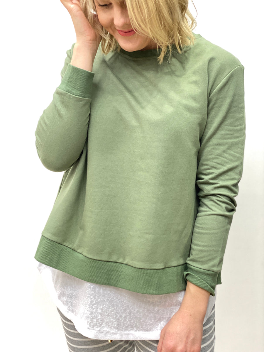 Heston Jumper Khaki