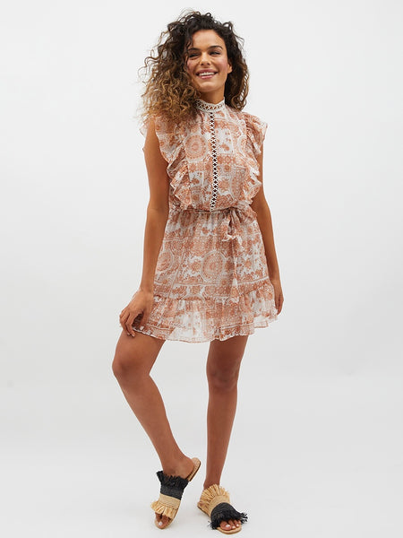 Winds Of Jaipur Mini Dress