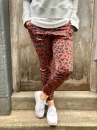 Willow Leopard Jogger