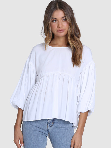 Zuri Top White