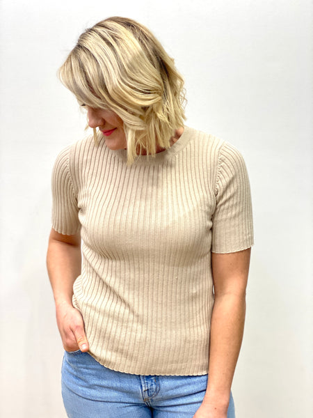 Nelly Top Beige