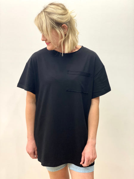Brando Pocket Tee Black