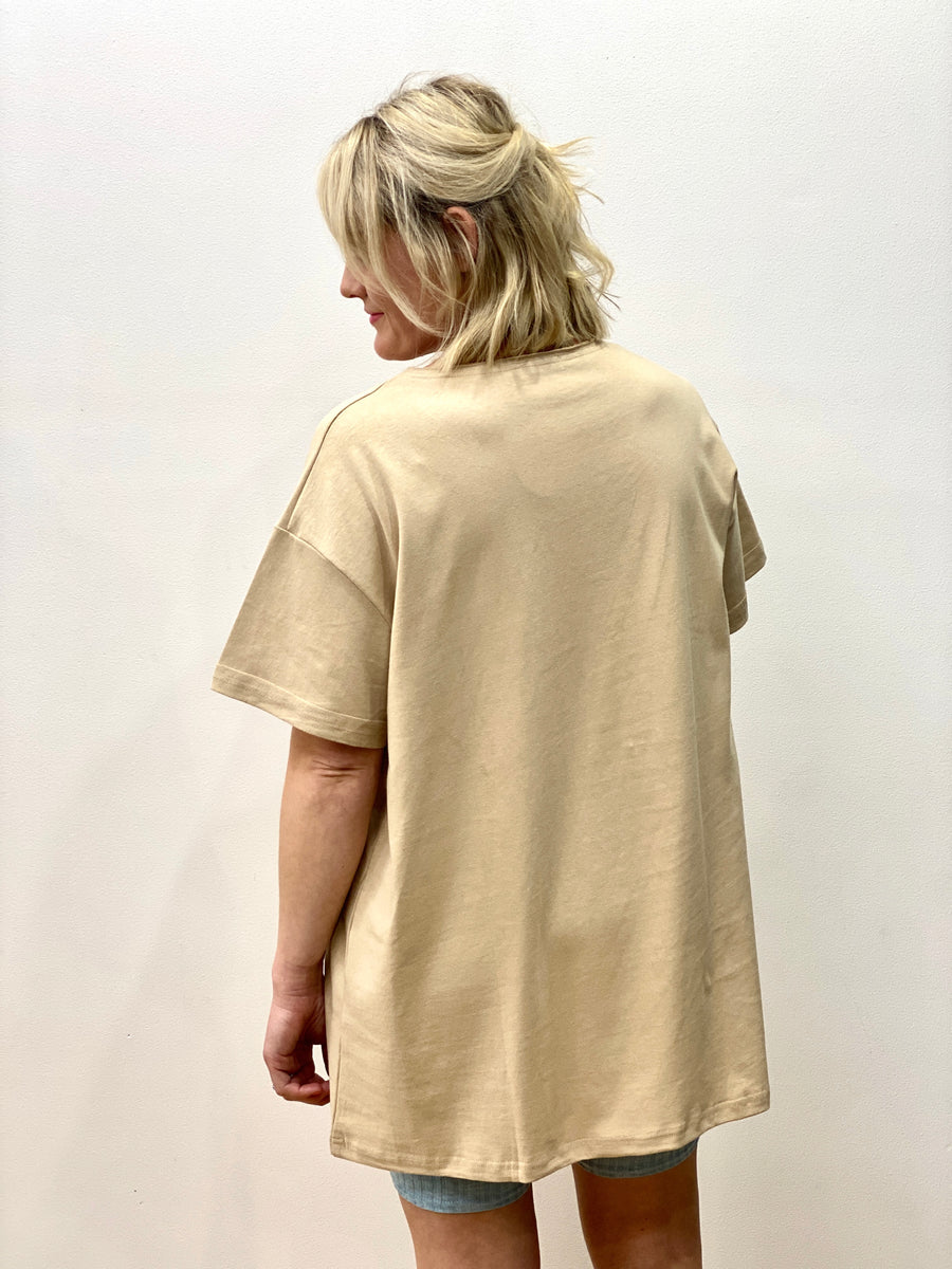 Brando Pocket Tee Nude