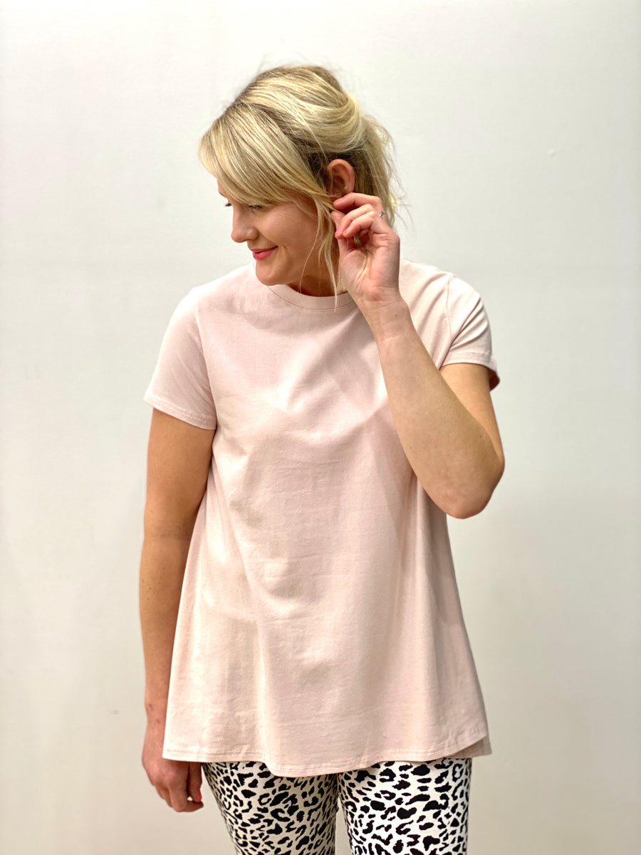 Alice Tee Dusty Pink