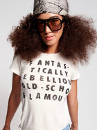 Rebel Glam Fitted Tee