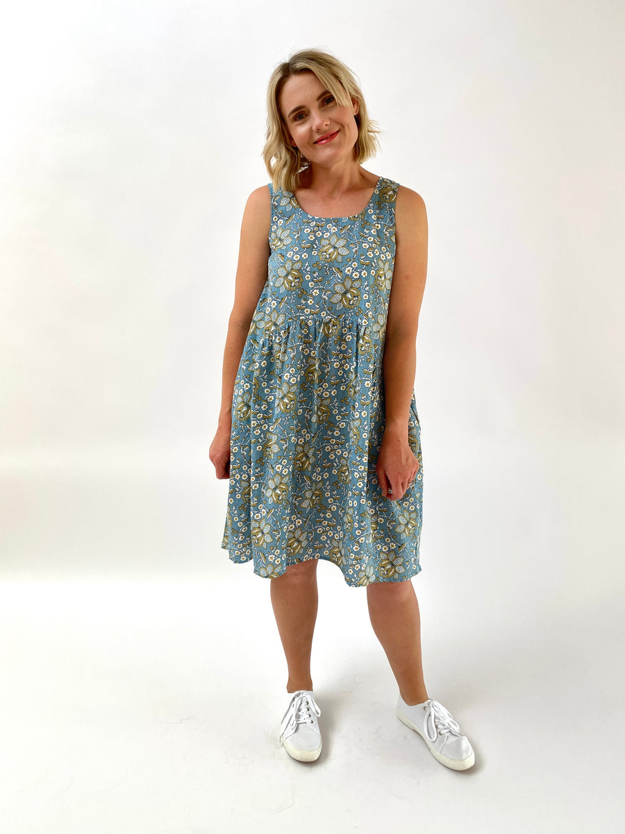 Winifred Dress Blue