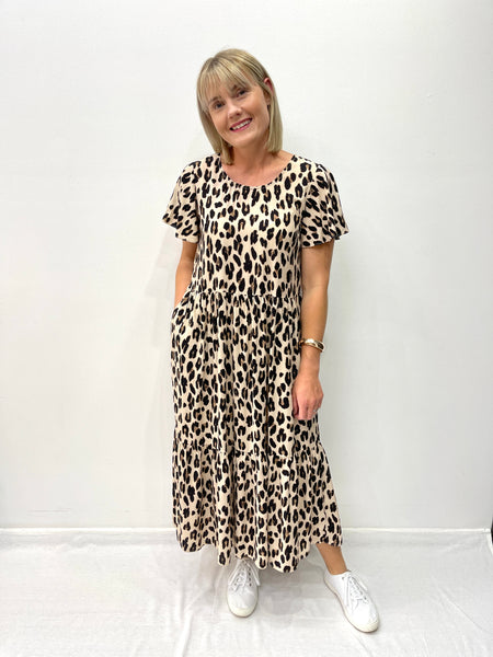 Asher Leopard Dress