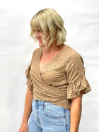 Candace Wrap Top