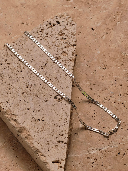 Elouise Chain Polished Silver