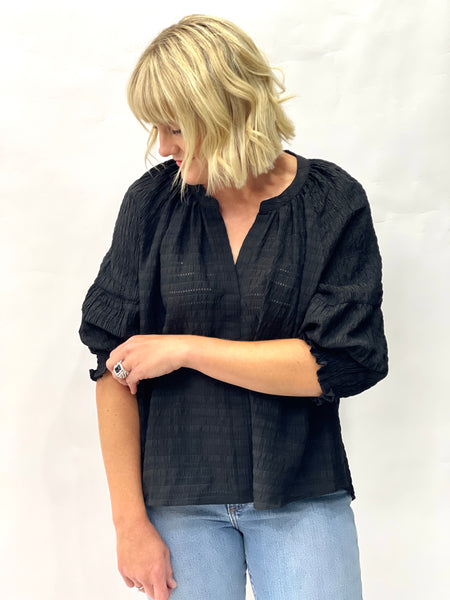 Baker Blouse Black