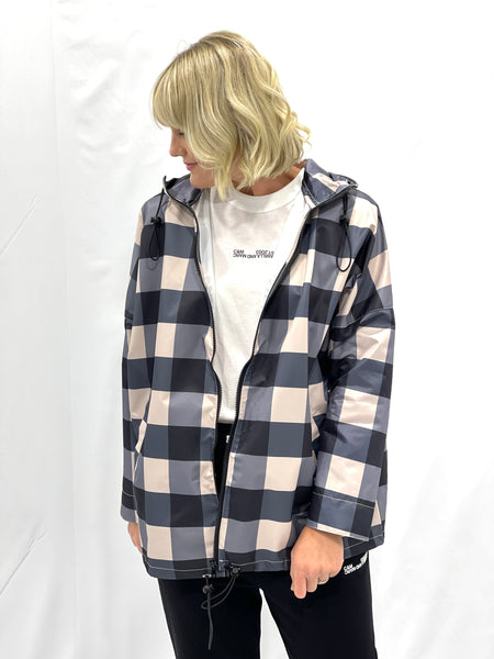 Skyler Spray Jacket Navy