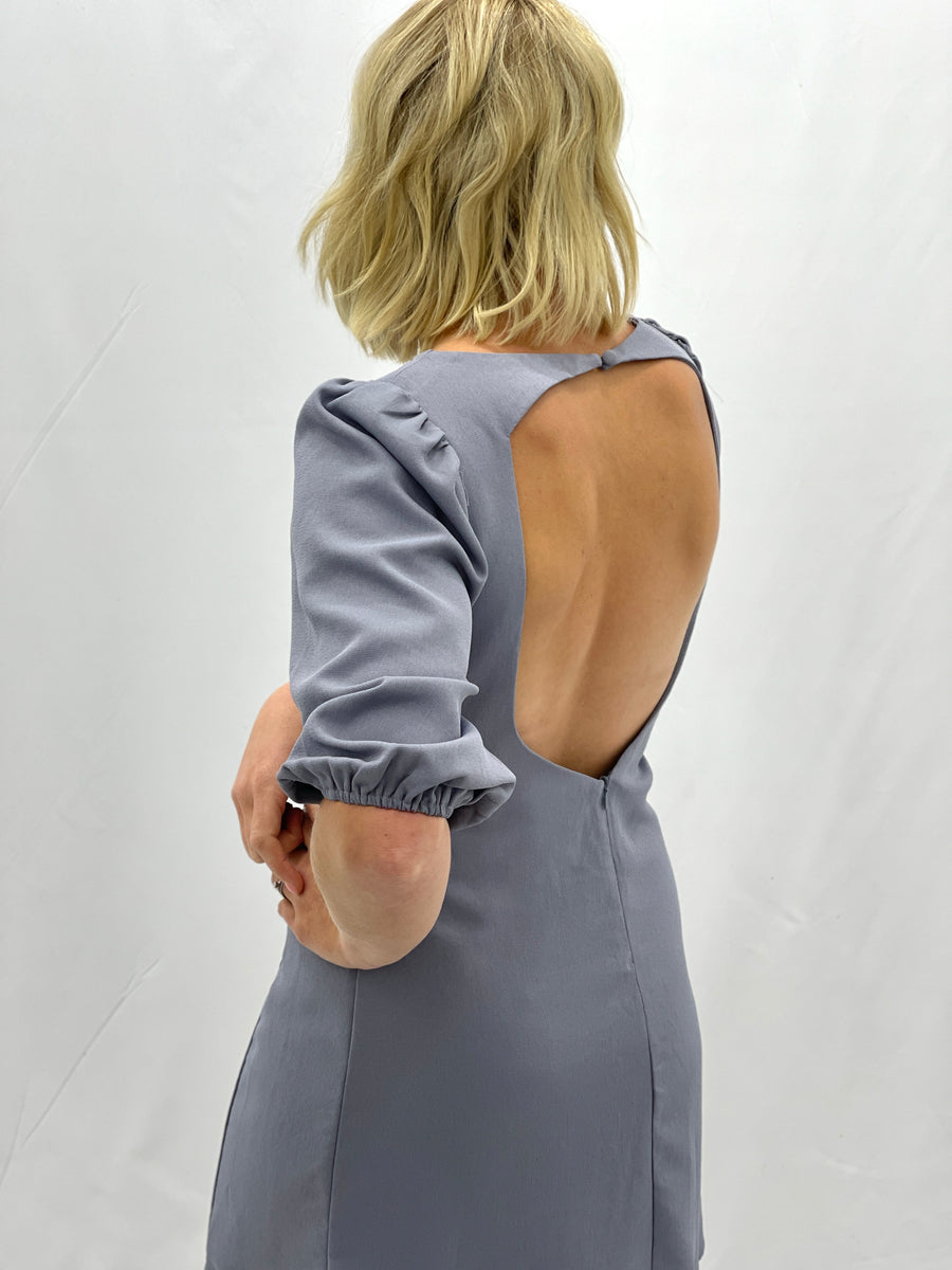 Renzo Open Back Dress