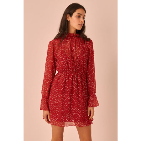 Assemblage Dress Red