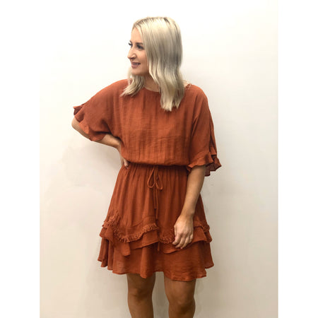 Bonni Dress Rust