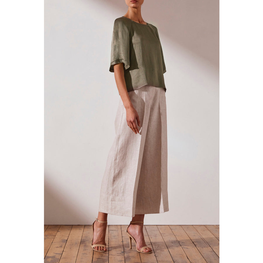 Elton Relaxed Tee Olive