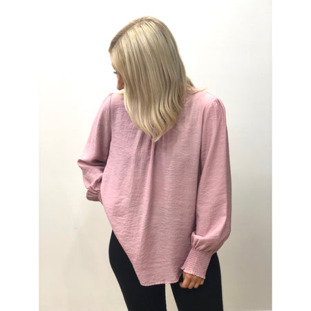 Bracken Blouse Dusty Pink