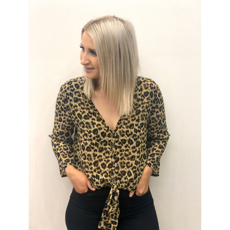 Charlie Leopard Top
