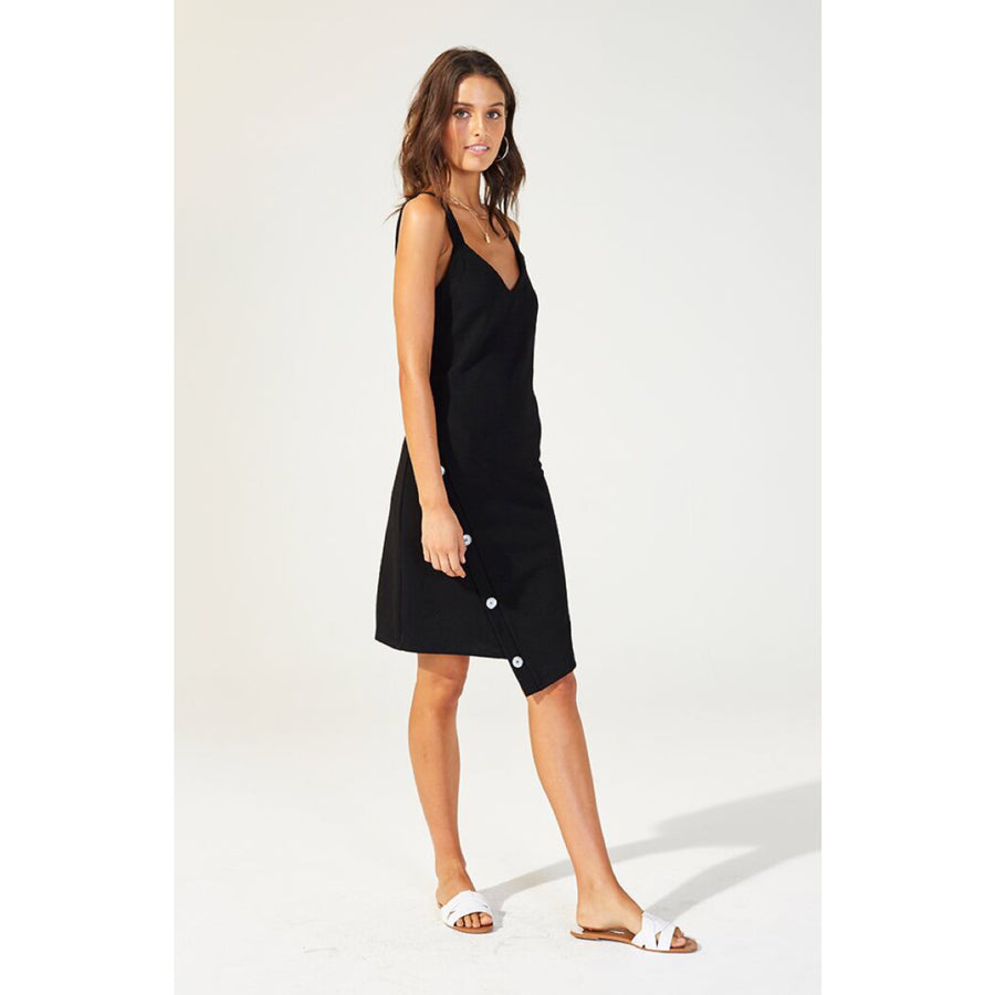 Carolina Textured Midi Dress