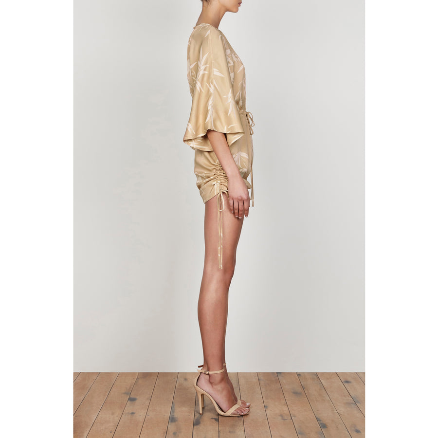 Edgar Ruched T Shirt Dress