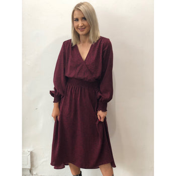 Joslin Dress Plum