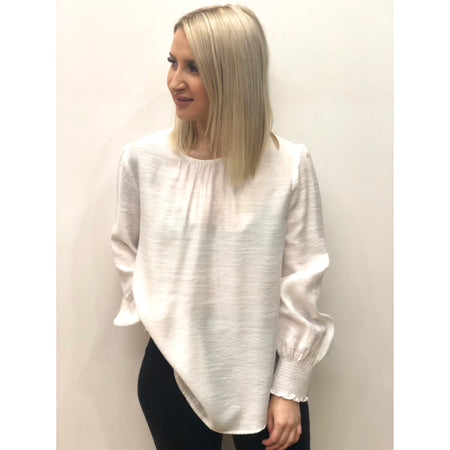 Bracken Blouse in White