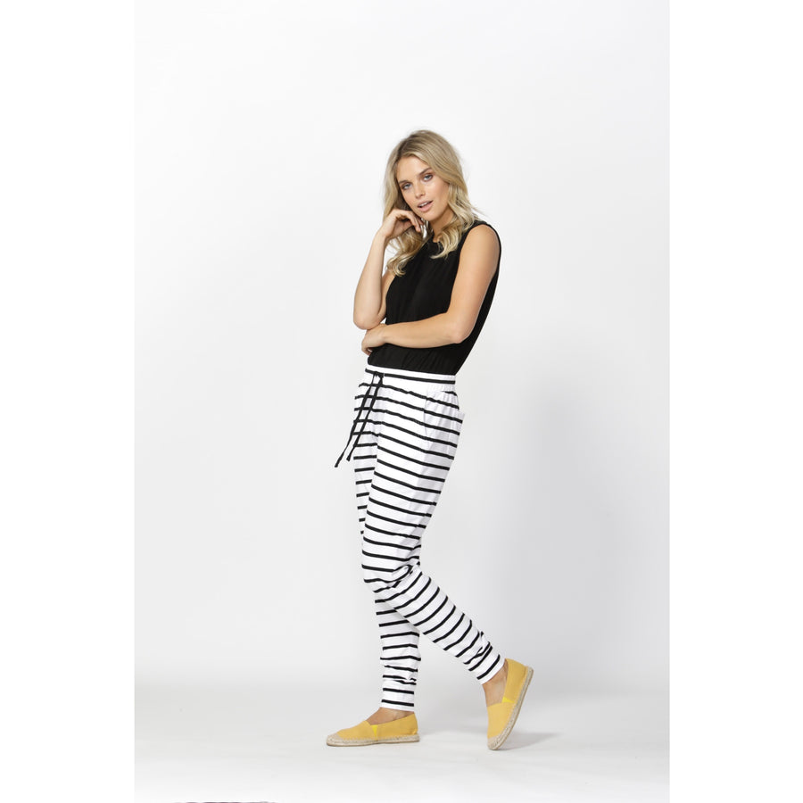 Miley Pant White/Black