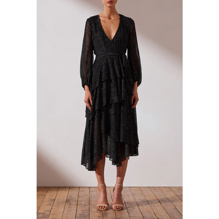 Bowie Tiered Midi Dress