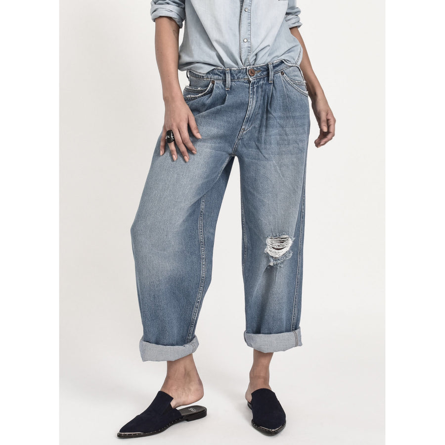 Smiths Low Waist Wide Leg Denim Jean