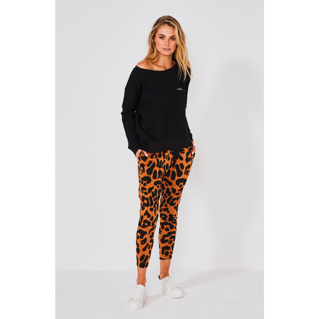 Kenji Come Back pant Rust Leopard