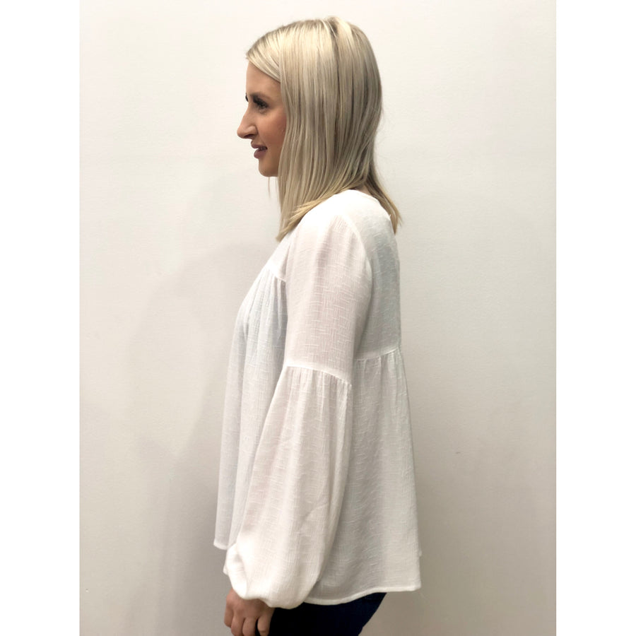 Griffin Top White