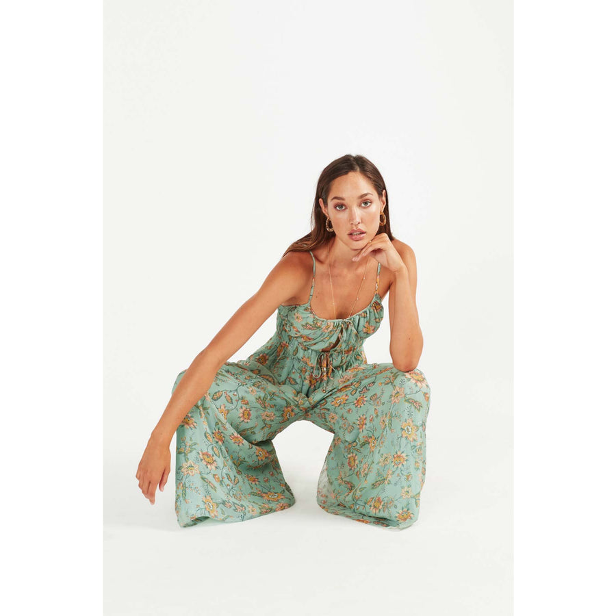 Persi  Silk Jumpsuit
