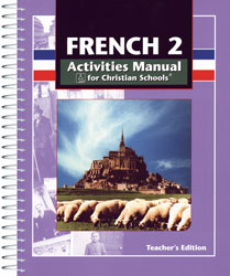 BJU French 2 Student Activities Manual Teacher's Edition - Learning Plus PH