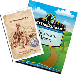 BJU BookLinks: Mountain Born Set (guide & novel)