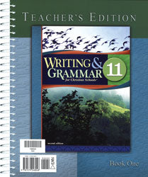 BJU Writing & Grammar 11 Teacher's Edition with CD (2nd ed.) - Learning Plus PH