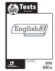 BJU English 3 Tests Answer Key (2nd ed.) (PH) - Learning Plus PH