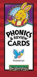 BJU Beginnings K5 Phonics and Review Cards (3rd ed.) - Learning Plus PH