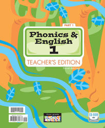 BJU Phonics and English 1 Teacher's Edition with CD (3rd ed.) - Learning Plus PH